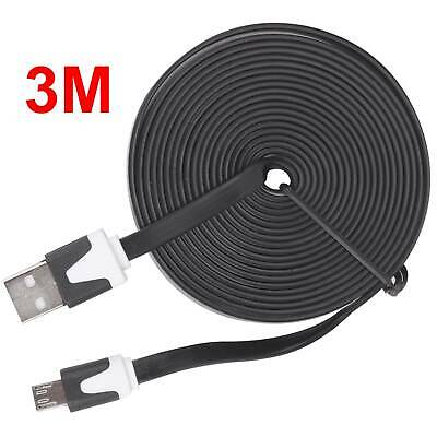 AU10.64 • Buy 3M Micro USB Charger Cable For Playstation 4 PS4 Dualshock 4 Wireless Controller