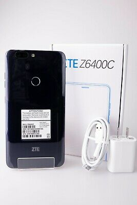 $98.95 • Buy ZTE Blade X2 MAX Z6400C 32GB 6  4G LTE (Factory Unlocked) Black Smartphone New