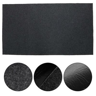 AU25.64 • Buy BBQ Gas Grill Mat Pad Deck Floor Protection Fire Resistant Splatter Rug 124x75cm