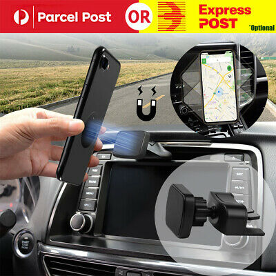 AU12.95 • Buy Magnetic Car CD Slot Mount Holder Stand For GPS Mobile Phone Universal