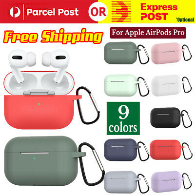 AU9.97 • Buy For AirPods Pro Wireless Charging Case Silicone Protective Cover Case NEW 2019