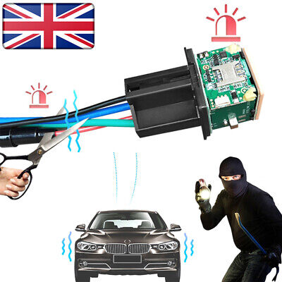 UK Car Tracking Relay GPS Tracker Locator Remote Control Power Cut Off System • 13.25£