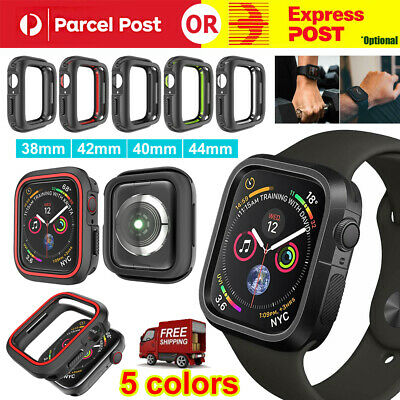 AU7.72 • Buy For Apple Watch Case Series 6 SE 5 4 3 TPU Protective Bumper Case 38 40 42 44mm