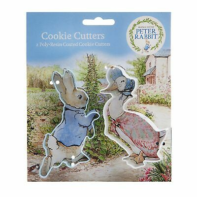 Peter Rabbit™ Poly-Resin Coated Cookie Cutter Set Pack Of 2 • 4.99£