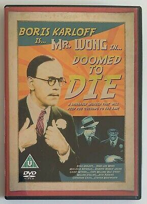 Doomed To Die (DVD, 2007) Classic 1940's Mystery Film, Region 2 • 3.99£