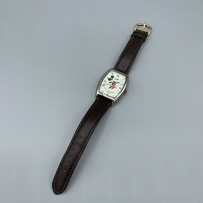 $28 • Buy Vintage Disney Mickey Mouse Limited Edition Watch Fossil CUTE!