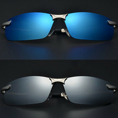AU16.99 • Buy Mens Polarized Pilot Air Force Mirrored Sunglasses Driving Outdoor Sport Glasses