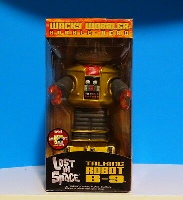 AU89.99 • Buy Funko WACKY WOBBLER SDCC 2012 480PC LOST IN SPACE B-9 GOLD ROBOT RARE 🚩