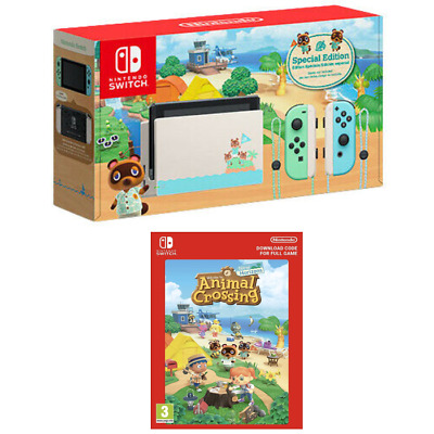 $ CDN899.45 • Buy NEW Nintendo Switch Animal Crossing: New Horizon Special Edition Console + GAME