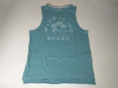 $ CDN23.66 • Buy Victoria Secret XS Graphic Tank Top Beach Cover Up Tee Palm Palms Made In Shade