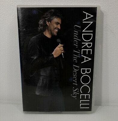 $5.99 • Buy Andrea Bocelli - Under The Desert Sky [CD Included] Two Discs Very Good