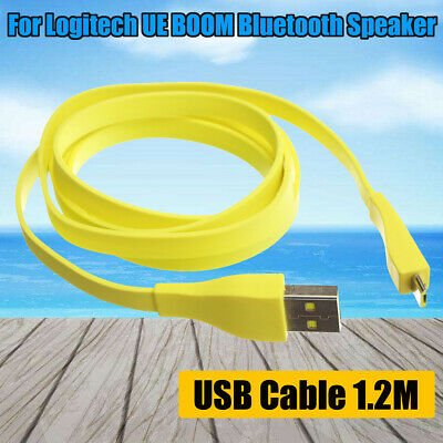 AU16.27 • Buy 1.2M Micro USB PC Charger Data Cable For Logitech UE BOOM MEGA Bluetooth Speaker