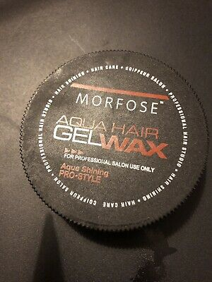 MORFOSE® Aqua Hair Wax- 175 Ml Perfect Hair Care - Incredible Shine- Honey-melon • 5.99£