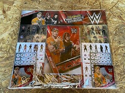 Wwe Fun Stickers 500 Super Sticker Set - Brand New & Sealed • 12.99£