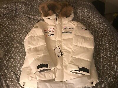 "$570 • Buy Descente Audi Swiss Ski Down Jacket ""Audi White""size S"