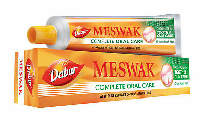 5 X  Dabur Meswak Tooth Paste With Pure Extract Of Rare Miswak Herbs 100gm • 14.99£