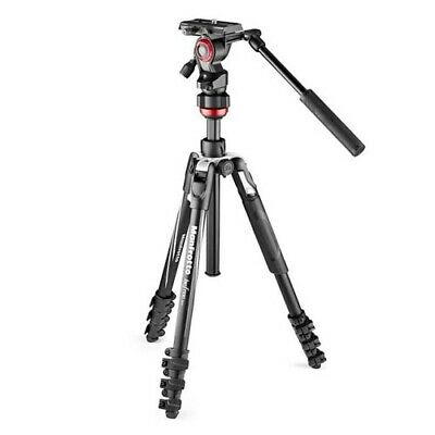 AU398.85 • Buy Manfrotto Befree Live Aluminium Tripod With Video Head [GEN MANFROTTO WARR]