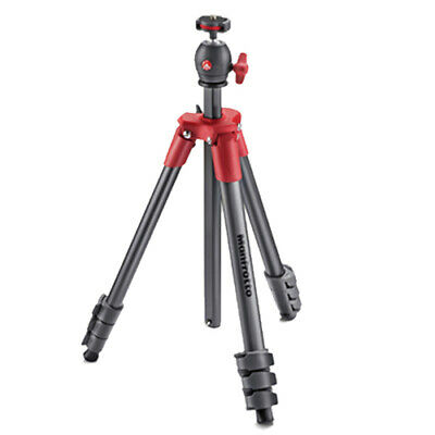 AU86.85 • Buy Manfrotto Compact Light 4 Section Tripod (MKCOMPACTLT) [MANFROTTO WARR]