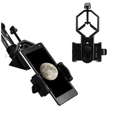 Cell Phone Holder Mount Adapter To Telescope Binocular Spotting Scope UK Stock • 8.99£