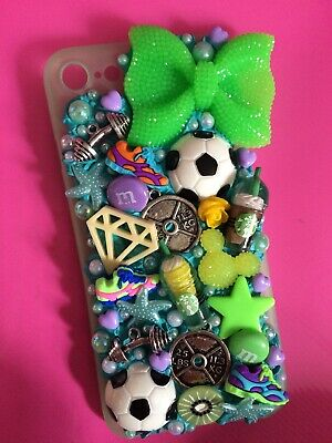 Iphone 6s Decoden Phone Case Green Cute Xmas Present Gift New • 9.99£