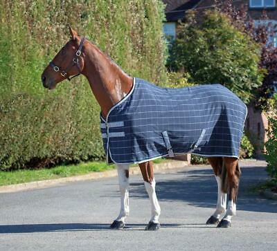 £35.09 • Buy Shires Tempest Original Horse/Pony Stable/Travel Sheet In Navy Check