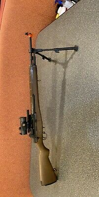 $350 • Buy We-tech Gas Blowback Full Metal M14 And Gilly Suit.