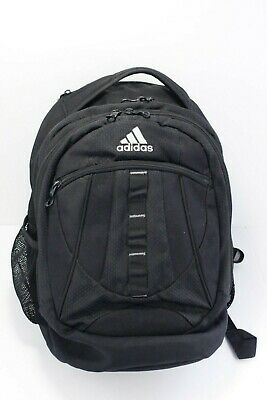 $19.99 • Buy Adidas Unisex Black Backpack School Sports Gym Bag Book Bag Laptop Pocket