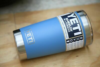 $29.95 • Buy ❗️ YETI Rambler 20oz Stainless Steel Insulated Tumbler Pacific Blue 💯 Authentic