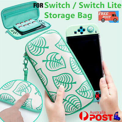 AU18.75 • Buy Animal Crossing Carrying Case Bag Console Card Storage For Nintendo Switch /Lite