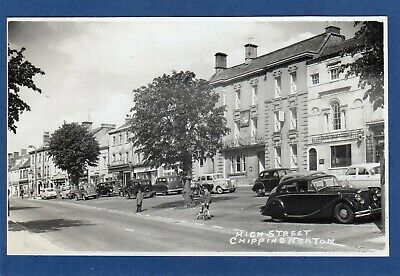 £9.50 • Buy High Street Chipping Norton White Hart Hotel Motor Car RP Pc Unused Packer  Y153