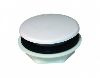 White Tap Hole Stopper Cover Blanking Plug ABS Plastic 40mm Kitchen Sink Basin  • 4.70£