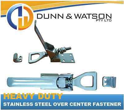 AU40 • Buy Stainless Steel Heavy Duty Over Center Fastener (Lock Latch Handle) Trailer Tray