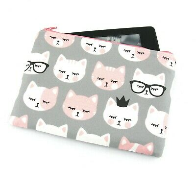 AU26 • Buy Kitty Cat Faces Kindle Padded E-Reader Case, Paperwhite Sleeve, Amazon Oasis