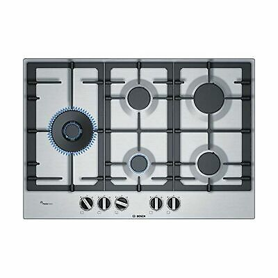 Bosch 6 Series PCS7A5B90 Built-in Gas Hob, Stainless Steel, 1000W, Round • 581.77£