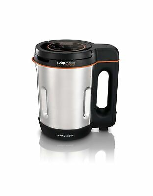 Morphy Richards Compact Soup Maker 501021 Stainless Steel 1 Litre, 900 W Single • 36.21£
