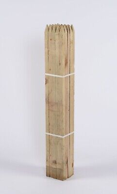 TREE STAKE 50 PACK OF 90cm X 32mm SQUARE SUPPORT TIMBER WOOD GARDEN POSTS PEGS  • 38.95£