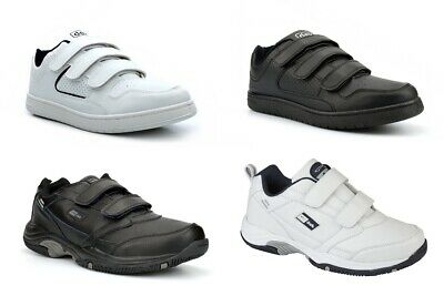 Mens Wide Fit Trainers Mens Touch Fastening Trainers Sizes 13, 14, 15 Available • 15.95£