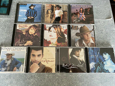 $ CDN29.75 • Buy Great Lot Of 10 Country CDs - Garth Brooks - Kenny Cheney - CD Ships Fast