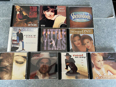 $ CDN29.75 • Buy Great Lot Of 10 Country CDs - George Strait - Neal McCoy - CD Ships Fast