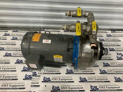 $750 • Buy Baldor CyberClean 200 Pump And Motor - JMM3713T-5 SSH-C