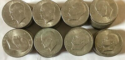 $168 • Buy 1971ONE DOLLAR COIN LIBERTY EISENHOWER Total 78