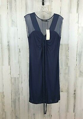 $23.95 • Buy MM Couture Women's Dress Blue Cocktail Size L NWT