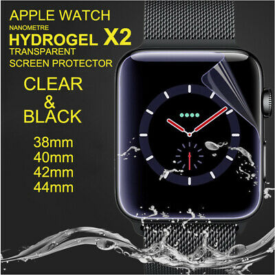 AU3.59 • Buy 2X Full Cover HYDROGEL Screen Protector For IWatch Apple Watch 38/42/40/44mm