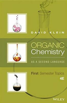$6.39 • Buy Organic Chemistry As A Second Language First Semester Topics 4th Edition ✔️[PĐF]