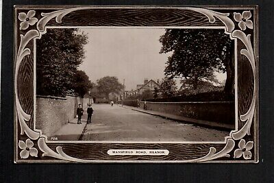 Heanor - Mansfield Road - Real Photographic Postcard • 10£