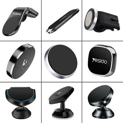 $3.52 • Buy Magnetic Car GPS Phone Holder Stand For IPhone Samsung Magnet Mount Accessories