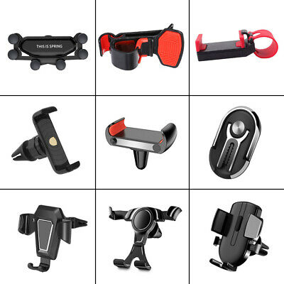 $2.24 • Buy 1x Gravity Car Truck Phone GPS Holder Air Vent Mount Stand Support Accessories