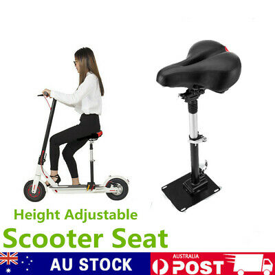 AU49.68 • Buy Adjustable Foldable Electric Scooter Seat Saddle For Xiaomi Scooter