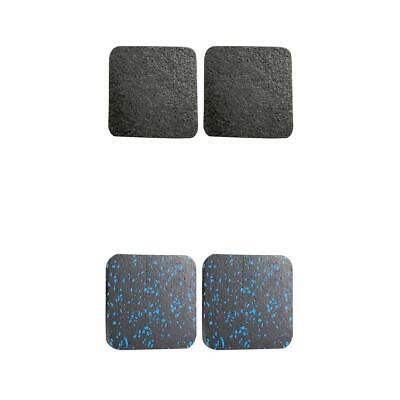 AU17.39 • Buy 4x Treadmill Sound Insulation Mat Rubber Office Fitness Cushion Antistatic