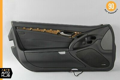 $441 • Buy 09-12 Mercedes R230 SL550 SL63 AMG Left Driver Interior Door Panel Black OEM